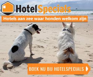 honden hotels aan zee banner